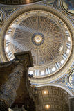 Italy, rome, st. peter�s cathedral Royalty Free Stock Photography
