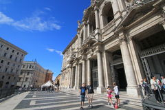 Italy Rome street view Royalty Free Stock Photography