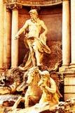 Italy, rome, trevi fountain Stock Photo