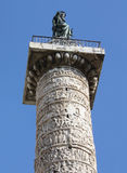 Italy. Rome. Trojan column Royalty Free Stock Photos