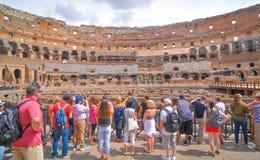 italy rome turister arkivfoton