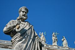 Italy, Rome, Vatican, Saint Pierre Royalty Free Stock Images