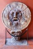 italy rome verita för sanning för mun för lie för boccadellaavkännare royaltyfri bild