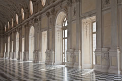 Italy - Royal Palace: Galleria di Diana, Venaria Royalty Free Stock Photo