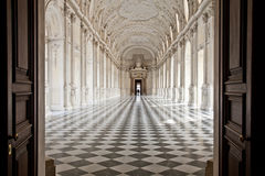 Italy - Royal Palace: Galleria di Diana, Venaria Stock Image