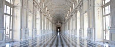 Italy - Royal Palace: Galleria di Diana, Venaria fotografia de stock royalty free