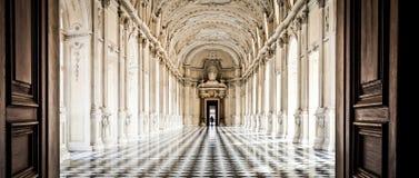 Italy - Royal Palace: Galleria di Diana, Venaria Royalty Free Stock Photo