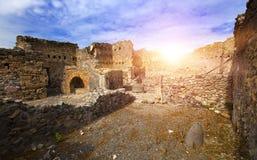 Italy Ruínas de Pompey fotos de stock royalty free
