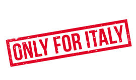 Only For Italy rubber stamp Royalty Free Stock Images