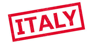 Italy rubber stamp Stock Photography
