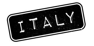 Italy rubber stamp Royalty Free Stock Photo
