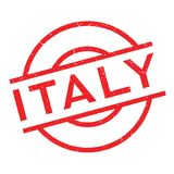 Italy rubber stamp Royalty Free Stock Image