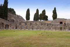 Italy. Ruins of Pompey Stock Images