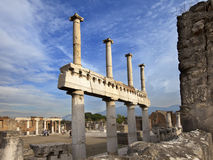 Italy. Ruins of Pompey Stock Image