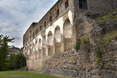 Italy. Ruins of Pompey Stock Photos
