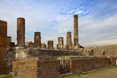 Italy. Ruins of Pompey Royalty Free Stock Photography