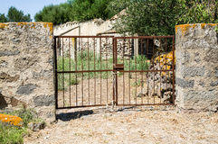 Italy. Rural architecture. Boundaries Royalty Free Stock Images