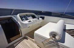 Italy, S.Felice Circeo (Rome), luxury yacht Royalty Free Stock Image