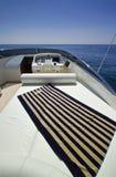 Italy, S.Felice Circeo (Rome), luxury yacht Stock Photography