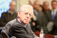 ITALY'S PREMIER MARIO MONTI Royalty Free Stock Photos