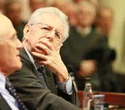 ITALY'S PREMIER MARIO MONTI Royalty Free Stock Photography