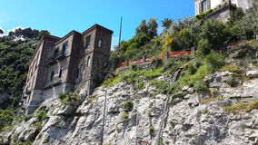 Italy's steep slopes and historic sorento. Excellent views Royalty Free Stock Image