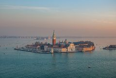 Italy.City of Venice. Italy. San Giorgio Maggiore in the city of Venice stock images