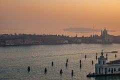 Italy.City of Venice. Italy. San Giorgio Maggiore in the city of Venice stock image