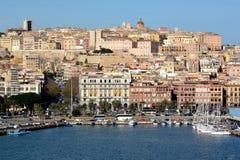 Italy, Sardinia, Cagliari, fortified city Stock Photo