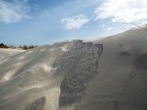 Italy, Sardinia, Carbonia Iglesias, Porto Pino, the dunes beach. Sardinia, Carbonia Iglesias, Porto Pino, the dunes beach Royalty Free Stock Images
