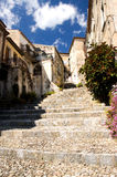 Italy Scalea Village Stairs Stock Image
