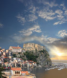 Italy.Scilla Castle, Calabria Stock Photography