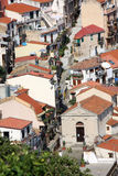 Italy.Scilla houses Calabria Royalty Free Stock Image