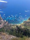 Italy. A Sea view Royalty Free Stock Photos