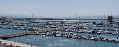 Italy, Siciliy, Mediterranean sea, marina Stock Images