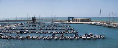 Italy, Siciliy, Mediterranean Sea, Marina Stock Image