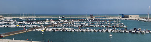 Italy, Siciliy, Mediterranean sea, marina Royalty Free Stock Photos