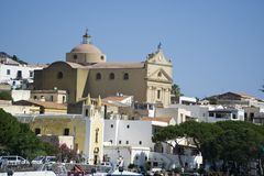 Italy Sicily Aeolian Island of Salina royalty free stock image