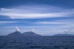 Italy Sicily Aeolian Islands, Filicudi Island, Lipari and Vulcano royalty free stock images
