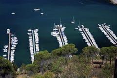 Italy, Sicily, Castellamare del Golfo village. royalty free stock photography