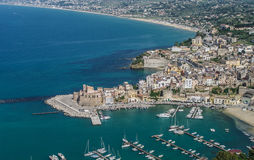 Italy, Sicily, Castellammare del Golfo Royalty Free Stock Photo