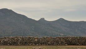 Italy Sicily fortress 1 Stock Photos