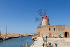 Italy, Sicily, Marsala (Trapani) Royalty Free Stock Photo