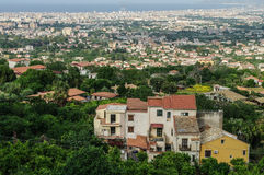 Italy, Sicily, Palermo. Landscape of suburbs of Palermo in Sicily, Italy Stock Photography