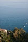 Italy Sicily Taormina - Panorama Stock Image