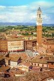italy siena tuscany royaltyfria bilder