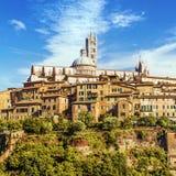 italy siena tuscany Royaltyfri Fotografi