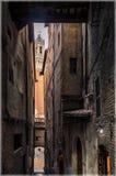 italy siena tuscany royaltyfria foton