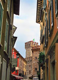 Italy, Sirmione, Tower Stock Photos