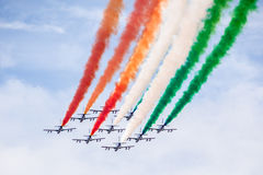 Italy in the sky Royalty Free Stock Photography